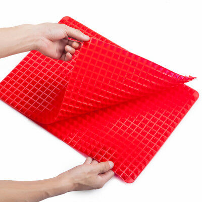 Pyramid Pan Silicone Kitchen Baking Mat For Healthy Cook Non Stick Bake Mat US