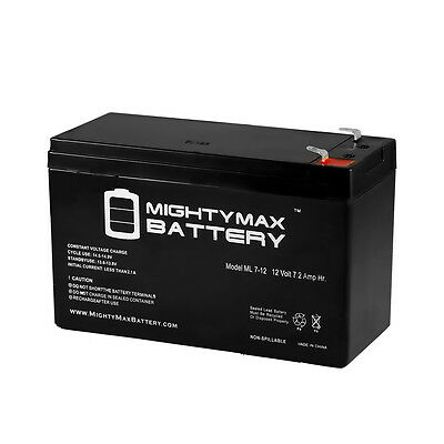 Mighty Max 12V 7.2AH SLA Replacement Battery for GT12080-HG; for FiOS and UPS