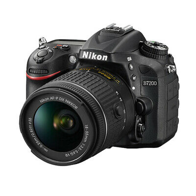 New Nikon D7200 24.2MP DX-Format CMOS Sensor Digital SLR  + 18-55 VR Lens Kit