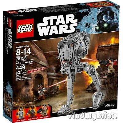Lego Star Wars Rogue One 75153 AT-ST Walker - Authentic Factory Sealed Brand NEW
