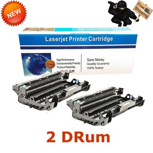 2-pk Dr720 Drum Unit For Brother Printer Hl-5440d Hl-5450...