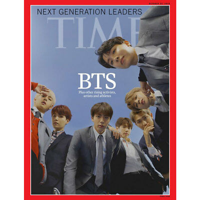 BTS TIME Weekly Asian Edition Coverman October 2018 Provide tracking number