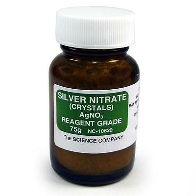 Nc-10829 Silver Nitrate 75g Photography Raku Glazefree Shippinglower 48 Sta