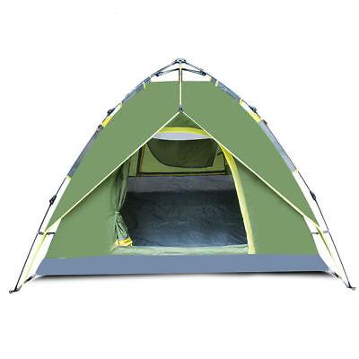 Waterproof Outdoor Tent 4 Person 4 Season Camping Folding Ultralight Pop Up Tent