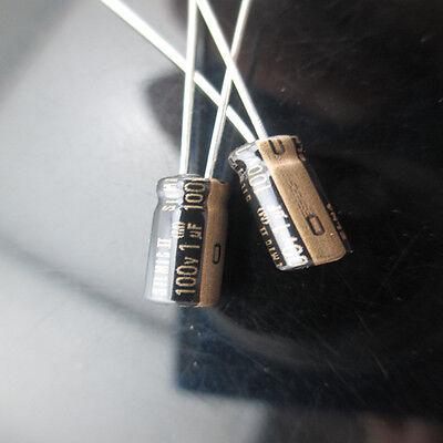12pcs Japan Elna Silmic Ii Rfs 1mfd 100v 1uf Audio Electrolytic Capacitor 5x11mm