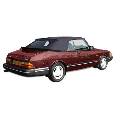 Fits: 1986-1994 Saab 900, Convertible Top,  Blue Haartz Stayfast for sale  Shipping to Canada