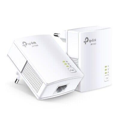 TP-LINK TL-PA7017 KIT 2er AV1000 (1.000Mbps) Gigabit Powerline Lan Adaptador Set