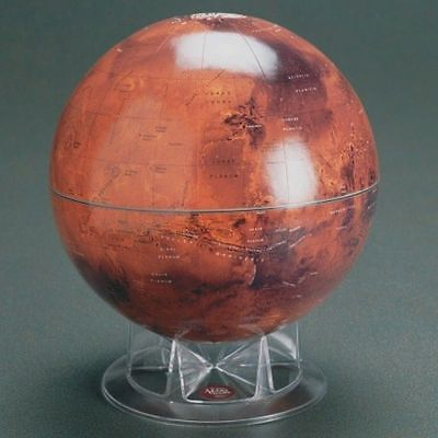 "12"" Mars Globe Based on Images from the Viking Orbiter Astronomy Planet"