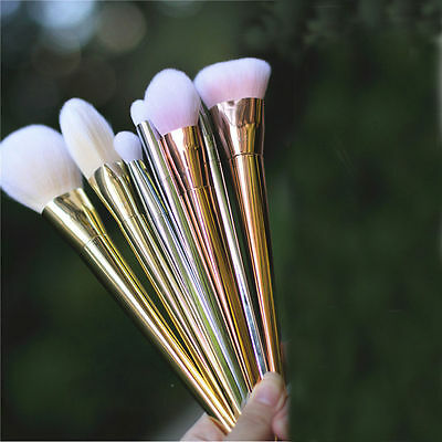 New 7pcs Makeup Cosmetic Brushes Set Powder Foundation Eyeshadow Lip Brush Tool on Rummage