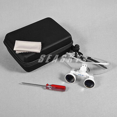 Dental Surgical Medical 3.5x Binocular Loupes Loupe Glasses Magnifying Magnifica