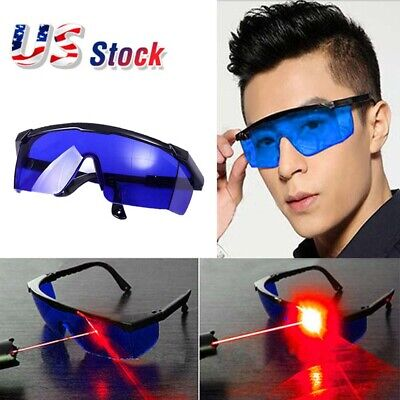 Blue Laser Eye Protection Safety Glasses Goggles For Uv Lasersbeauty Protective