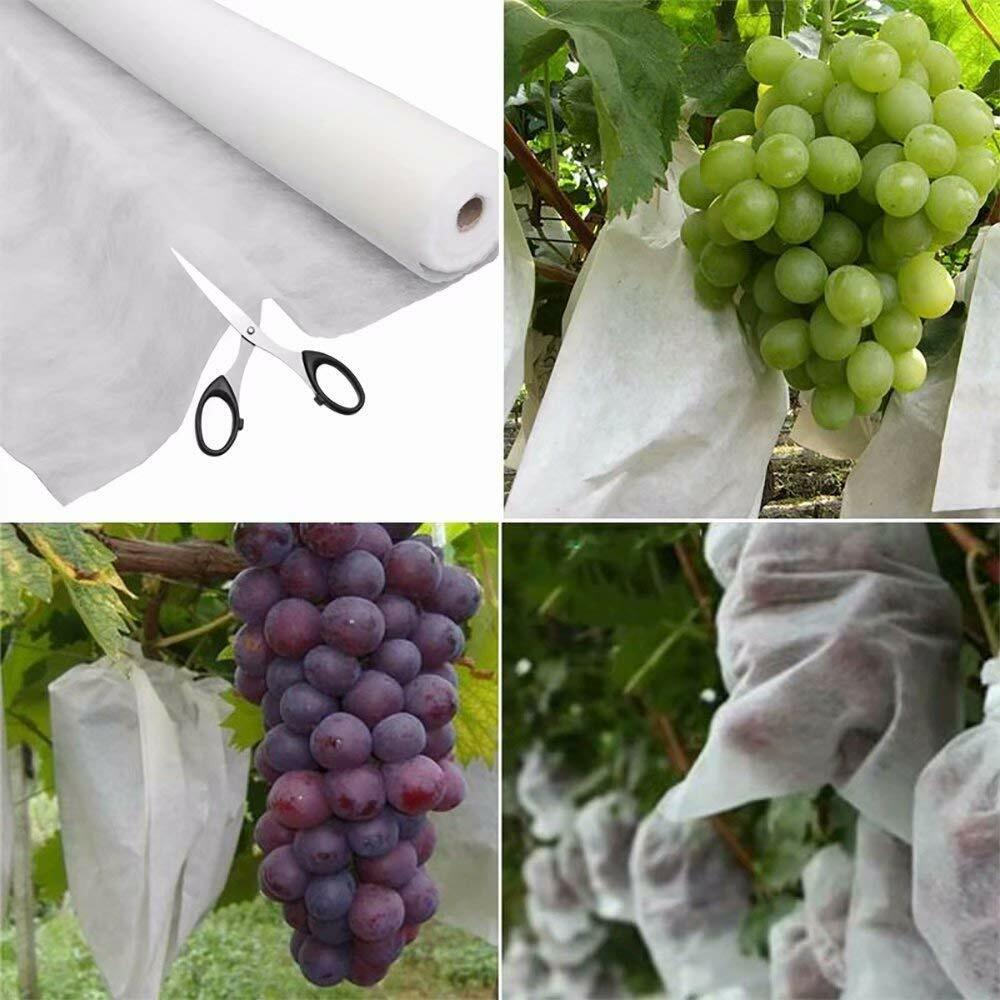 Roll Heavy Floating Row Cover and Plant Blanket 0.9oz Fabric of 6x25ft