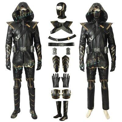 Avengers: Endgame Hawkeye Ronin Costume Halloween Cosplay Comic Con Fancy Dress - Hawkeye Comic Costume