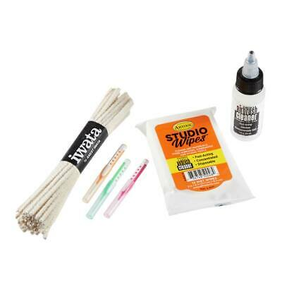 Cleaning Iwata Airbrush - Iwata Airbrushes Iwata Airbrush Cleaning Kit Refill Pk CL150