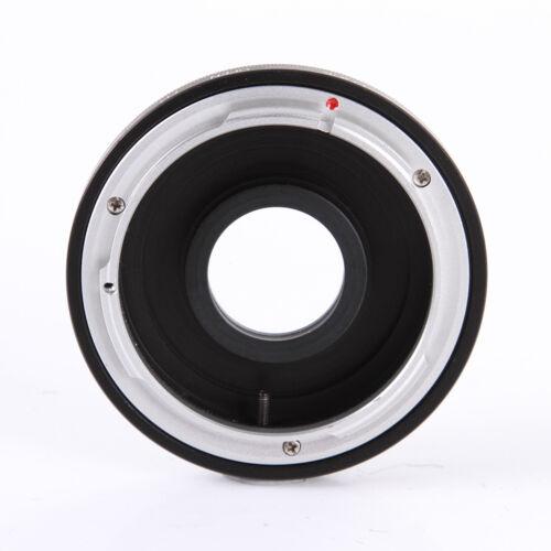 Adapter M42 Objektiv an Nikon Kamera mit Glaslinse unendliche Fokussierung Glas
