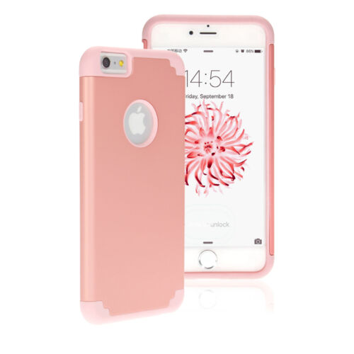 """Shockproof Rugged Hybrid Rubber Hard Cover Case for iPhone 8 Plus 5.5""""/ 7 4.7"""""""