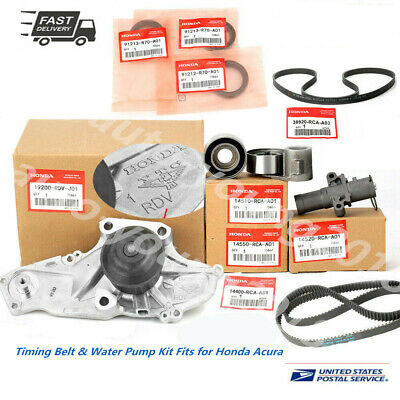 Genuine /OEM Timing Belt & Water Pump Kit Fits for Honda/Acura V6 Factory Parts! Factory Roller Cam