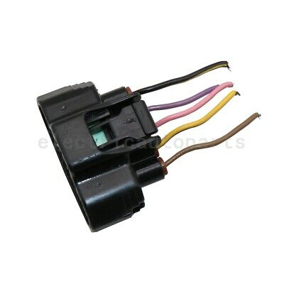 OEM MAF Mass Air Flow Meter Sensor Connector Plug Pigtail Harness Wire For Mazda
