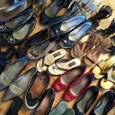 SecondHand Used Women  Shoes 25 KG Wholesale Grade A+ £3.50 per KG