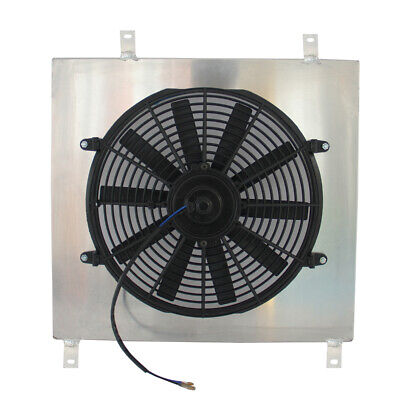 Aluminium Radiator Fan Shroud FITS MITSUBISHI DELICA 2.8 TD L400 4M40 42mm CORE
