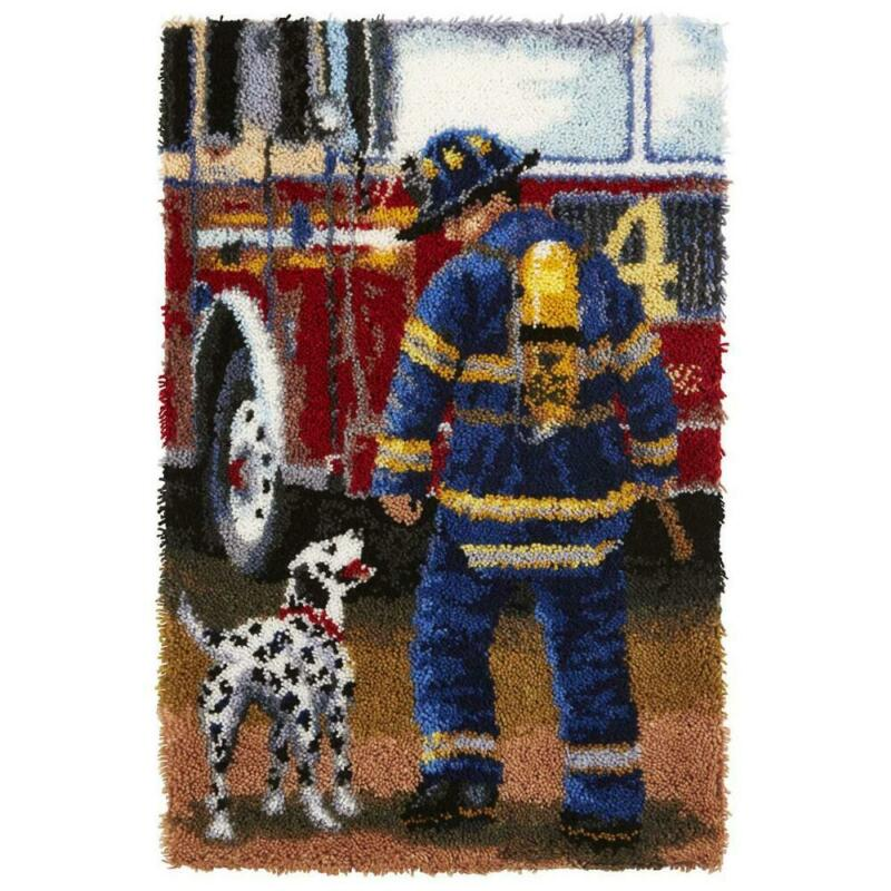 Herrschners® Firefighter Latch Hook Kit