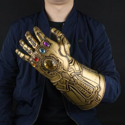 SHIPS SAME DAY! Thanos Infinity Gauntlet Glove Marvel Legends Avengers 2018 Prop