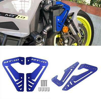 FOR <em>YAMAHA</em> MT 10 FZ 10 2015 2016 CNC RADIATOR PROTECTOR COVER PLATES G