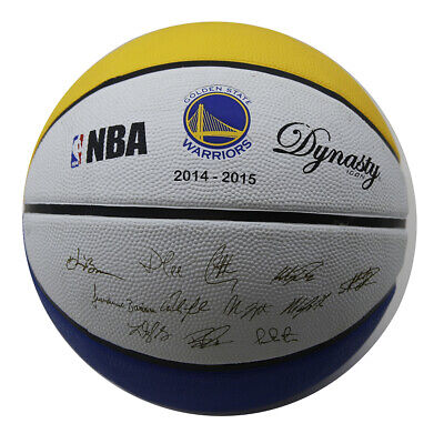 Spalding Golden State Warriors Limited Edition Basketball Stamp Inscribed with