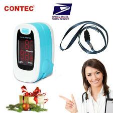 SPO2 Finger Pulse Oximeter Blood Oxygen Saturation Heart ...