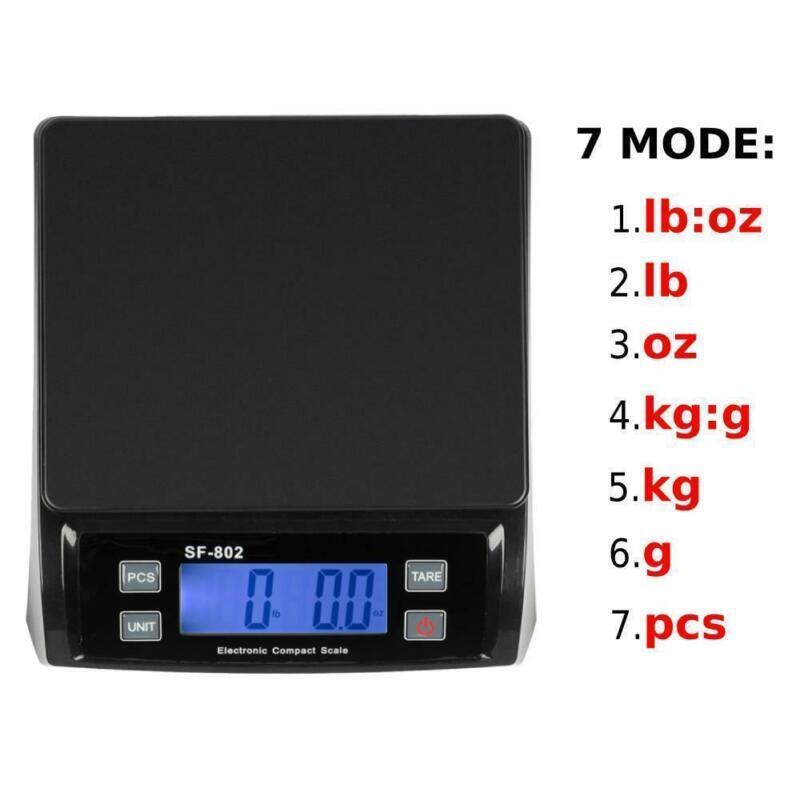 66 LBS 30kg x 1g Digital Weigh Packaging Shipping Postal Scale KG/G/LB/OZ/PCS