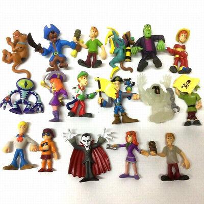 Random 11pcs Scooby Doo Crew Mystery Mates Mummy Zombie Monster Skeleton Man