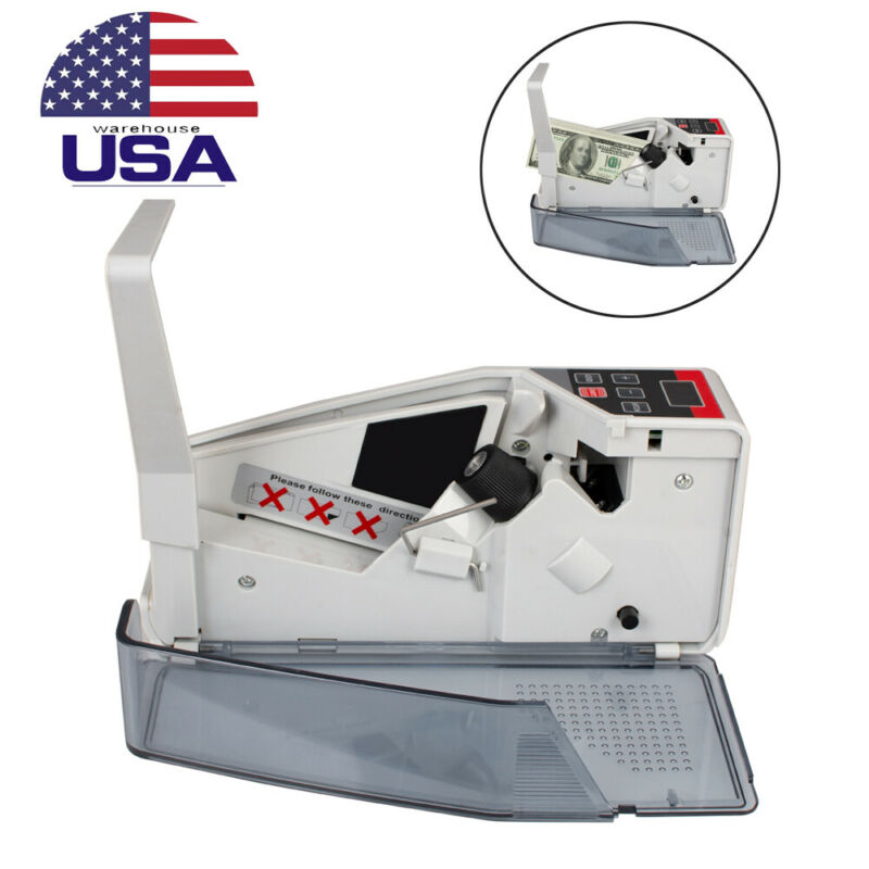 Portable Mini Bill Cash Counter Money Currency Counter Banknote Counting Machine