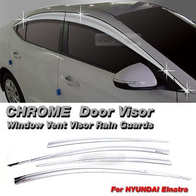 Smoke Window Sun Visor Guard 4p For 10 11 12 13 14 Hyundai Tucson ix35 USA Only
