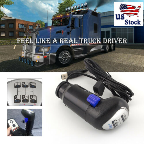 SIM Gearshift Shifter Knob MAN truck ATS ETS2 Simulator for