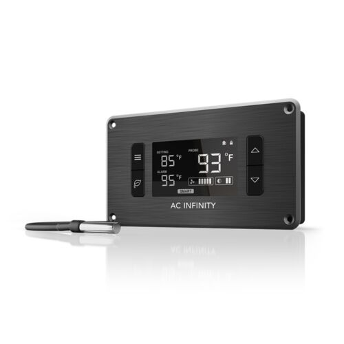 Intelligent Thermal and Speed Fan Controller, for Home Theater AV Cabinets