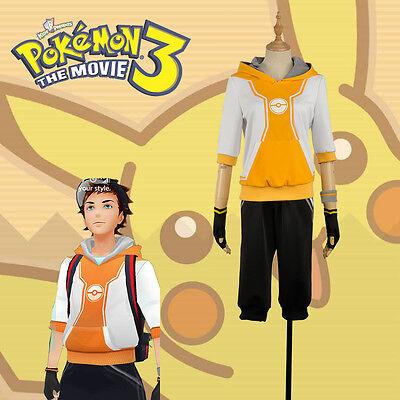 ner Figure Orange Team Valor Instinct Mystic Cosplay Costume (Pokemon Trainer Cosplay)
