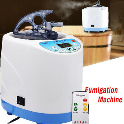 2L Sauna Spa Steamer Steam Generator For Portable Sauna Tent Body Therapy w/RC