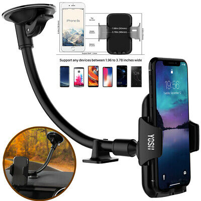 YOSH In Car Suction Phone Holder Dashboard Windscreen Universal Mount Rotatable