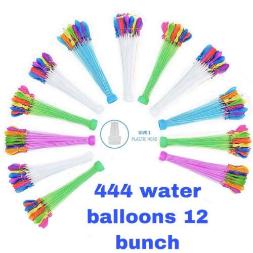 ✅ 444 Buch O Style Water Balloons 4 Pks Rapid Fill Self-Sealing Self Tied Tiktok