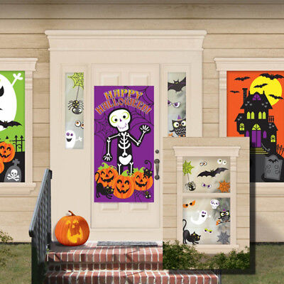 Halloween Party Entrance (Happy Halloween Party Family Friendly Scene Setter Entrance Decoration)