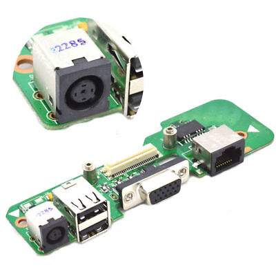 New DELL INSPIRON 1545 Round DC POWER JACK USB Charging BOARD 01284