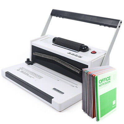 Spiral Coil Calendar Binding Machine 46 Round Hole Punching Binder Machine Best