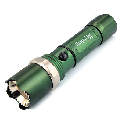 UniqueFire 5000LM Zoomable XML LED 3Mode Tactical Military Bright Flashlight