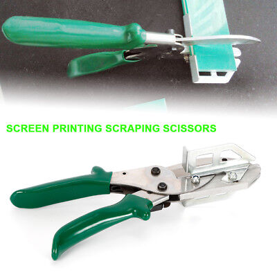 Squeegee Rubber Blade Scraping Special Scissors Clipping Craft Set Diy Making