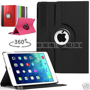 Apple-iPad-2-3-4-iPad-Mini-1-2-3-4-iPad-Air-5-Air2-6-Leather-Rotate-Case-Cover