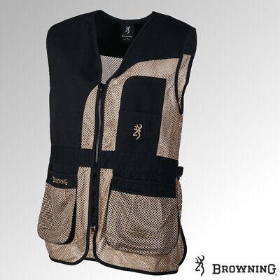 Browning Vest Phoenix Black Hunting, Shooting (30570099xx) Browning Shooting Vest