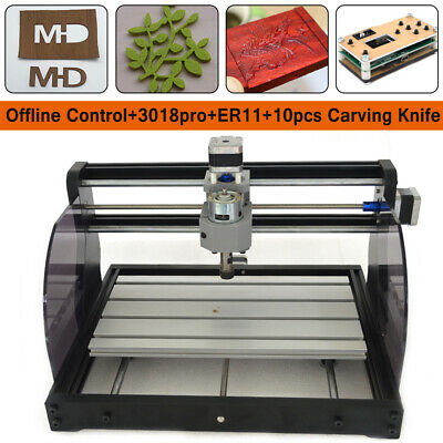Cnc 3018pro Machine Router Grbl Control Woodpcbpvc Laser Engraving Milling