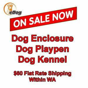 Dog Run Outdoor Enclosure Chain link Play Pen Kennel Exercise Welshpool Canning Area Preview