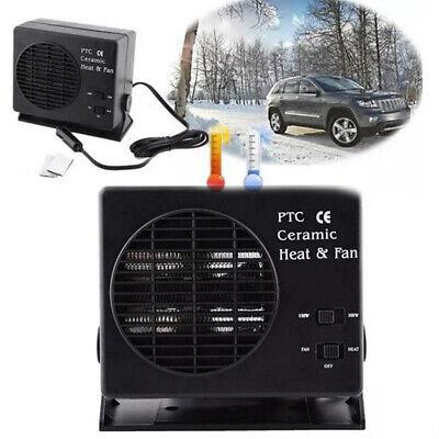 300W 12V Car Truck Fan Heater Defroster Demister Heating Warmer Windscreen NEW