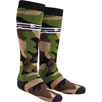 AXO MX Long Socks - Camo Adult One Size Fits Most Axo Mx Socks
